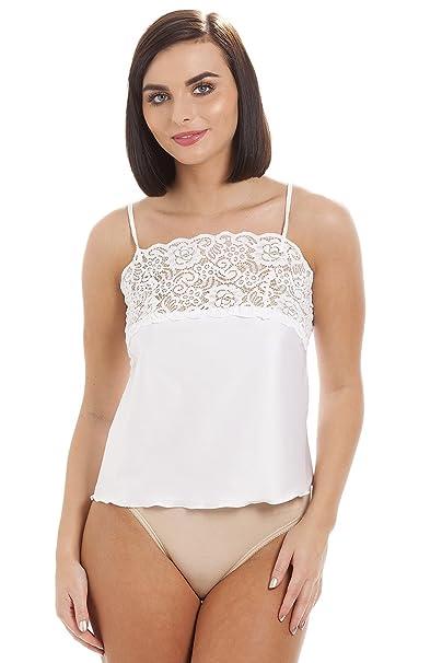 Camille - ropa interior para Mujer de color Blanco de talla 22