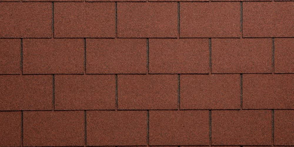 Eco Roof Cubierta para tejado rojo Bituminosa granagliata