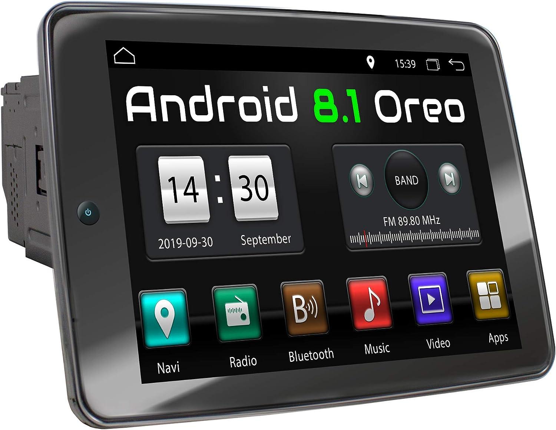Xomax Xm 2va1091 Car Radio With Android 8 1 Quad Core 2gb Ram 32gb Rom Gps Navigation I Support Wifi Wlan 3g 4g Dab Obd2 I Bluetooth 10 9 Inch Ips Xxl Touchscreen Usb Sd