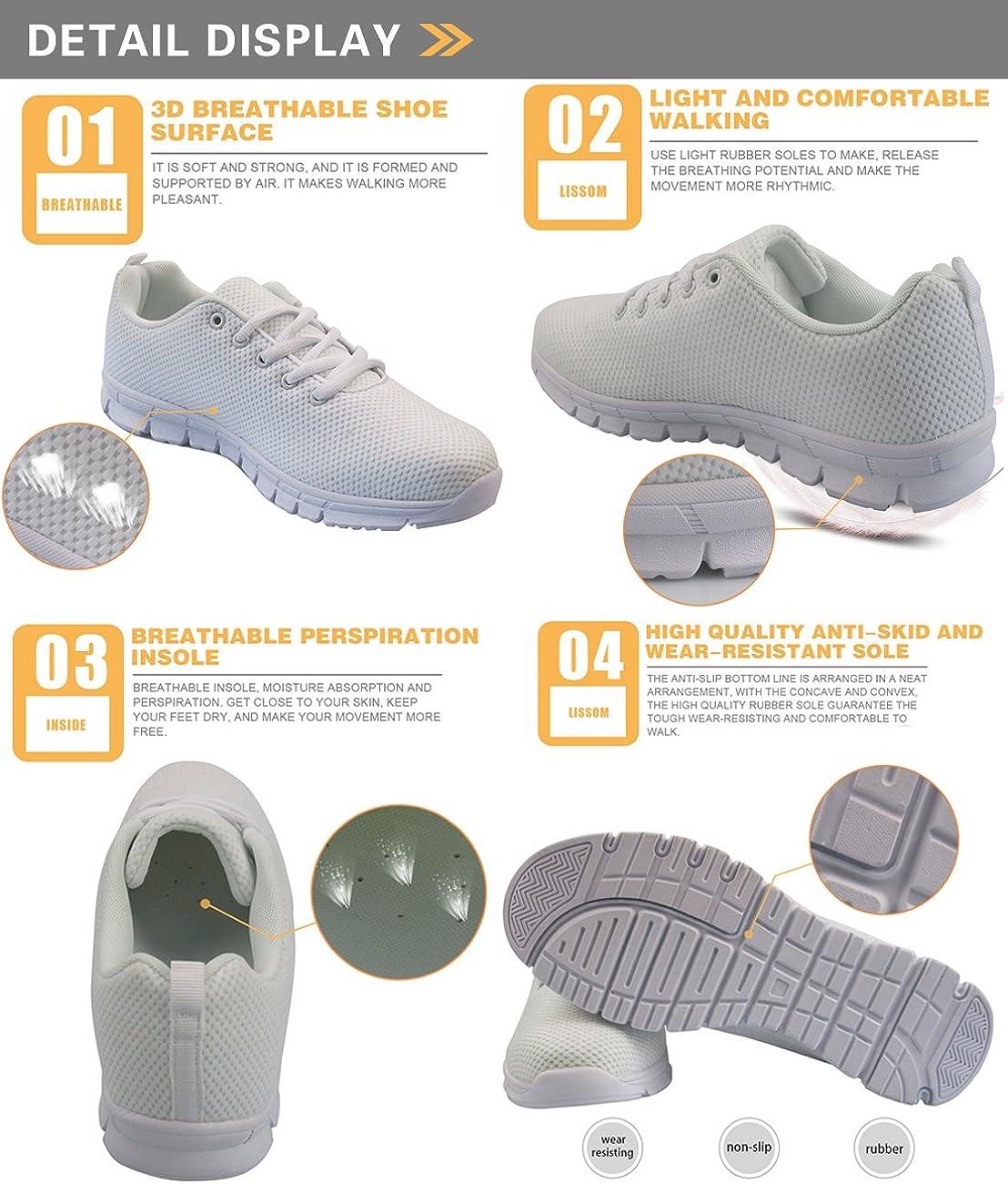 Coloranimal Chaussures de marche pour femme Printemps été Yorkshire Terrier 3