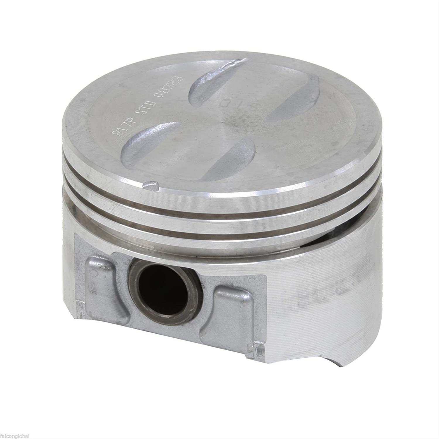 1996-02 Sealed Power Chevy 305 5.0 VORTEC V8 Cast Pistons+Rings Kit .030 Bore 3.766 Choice of sizes.
