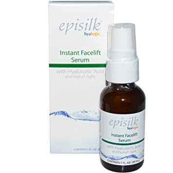 Hyalogic - Episilk Instant Facelift Face Serum with Hyaluronic Acid & Pepha-Tight - 1 oz. My Spa Life Facial Make Up Wipes
