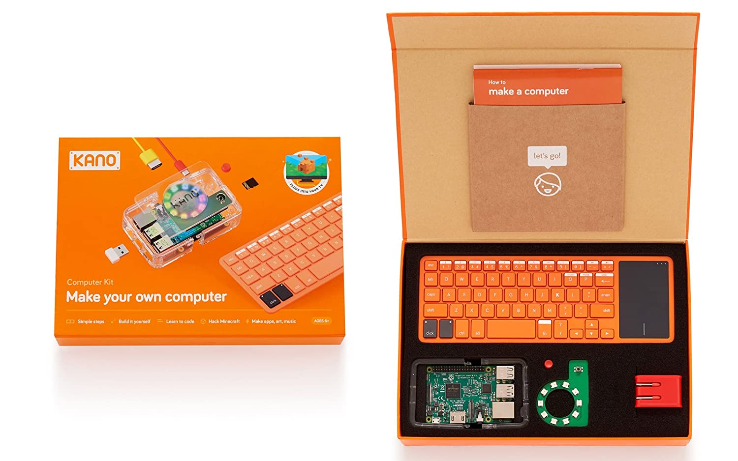 Amazon kano computer kit 2017 make a computer learn to amazon kano computer kit 2017 make a computer learn to code amazon launchpad solutioingenieria Image collections