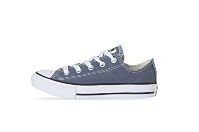 Converse Chuck Taylor 344804C Grey Admiral Low Trainers for Kids