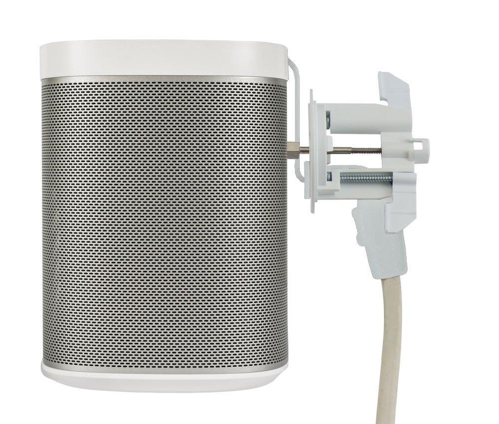 MIDLITE C7HS-W Speaker Mount in-Wall Power Solution Sonos Speaker, 8' Length in Wall