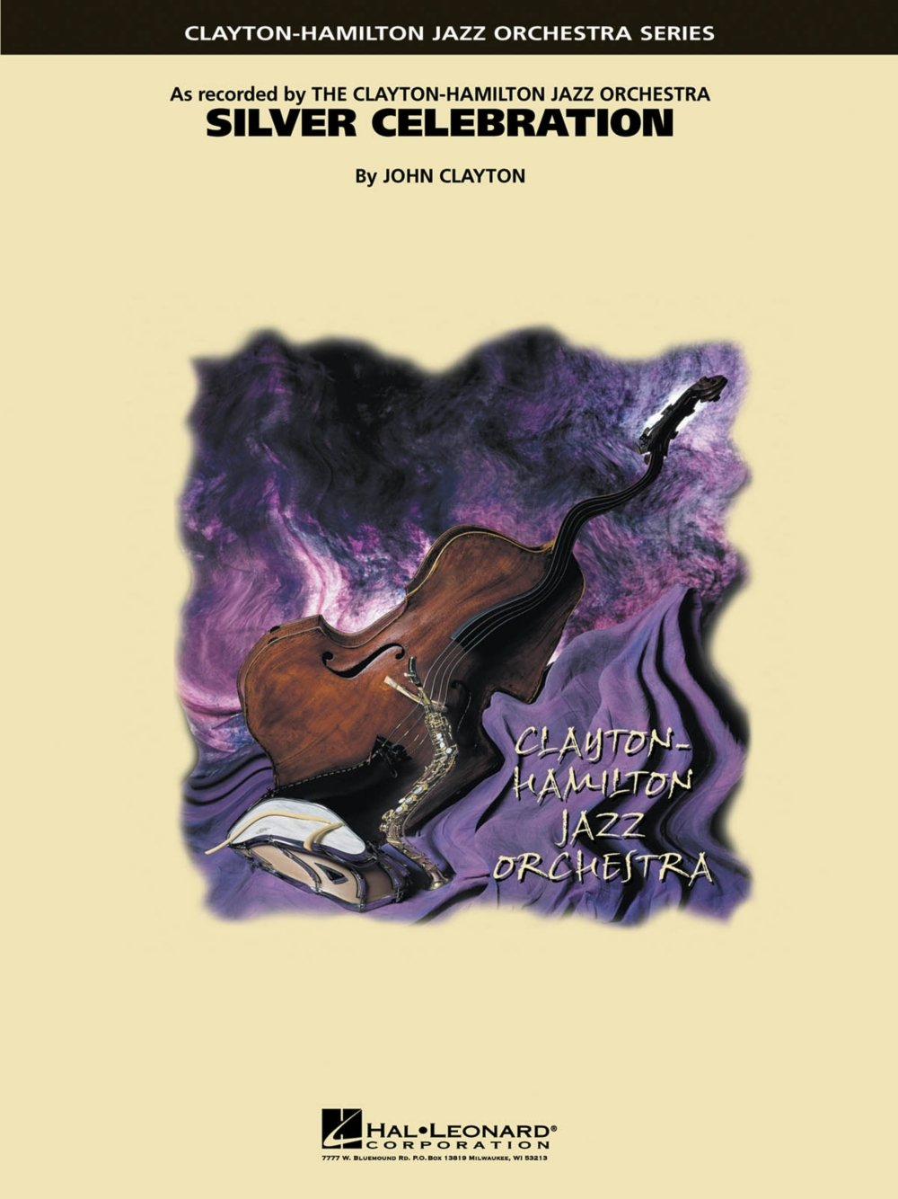 Download Hal Leonard Silver Celebration Jazz Band Level 5 Composed by John Clayton pdf epub