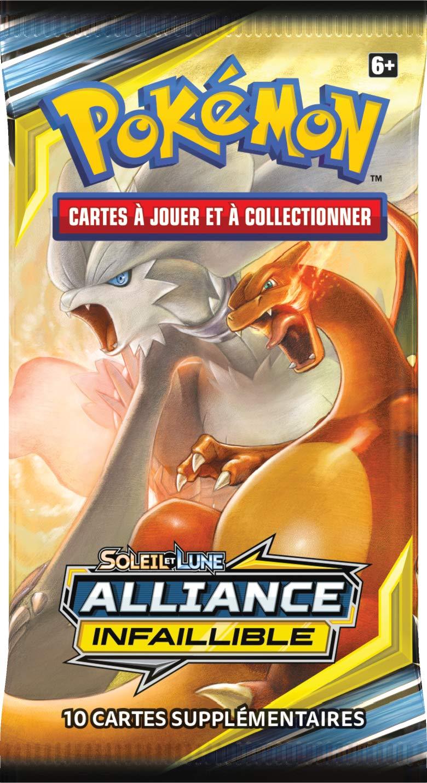 Pokemon- SL10 Booster Soleil et Lune Alliance Infaillible Mod/èle al/éatoire POSL1002