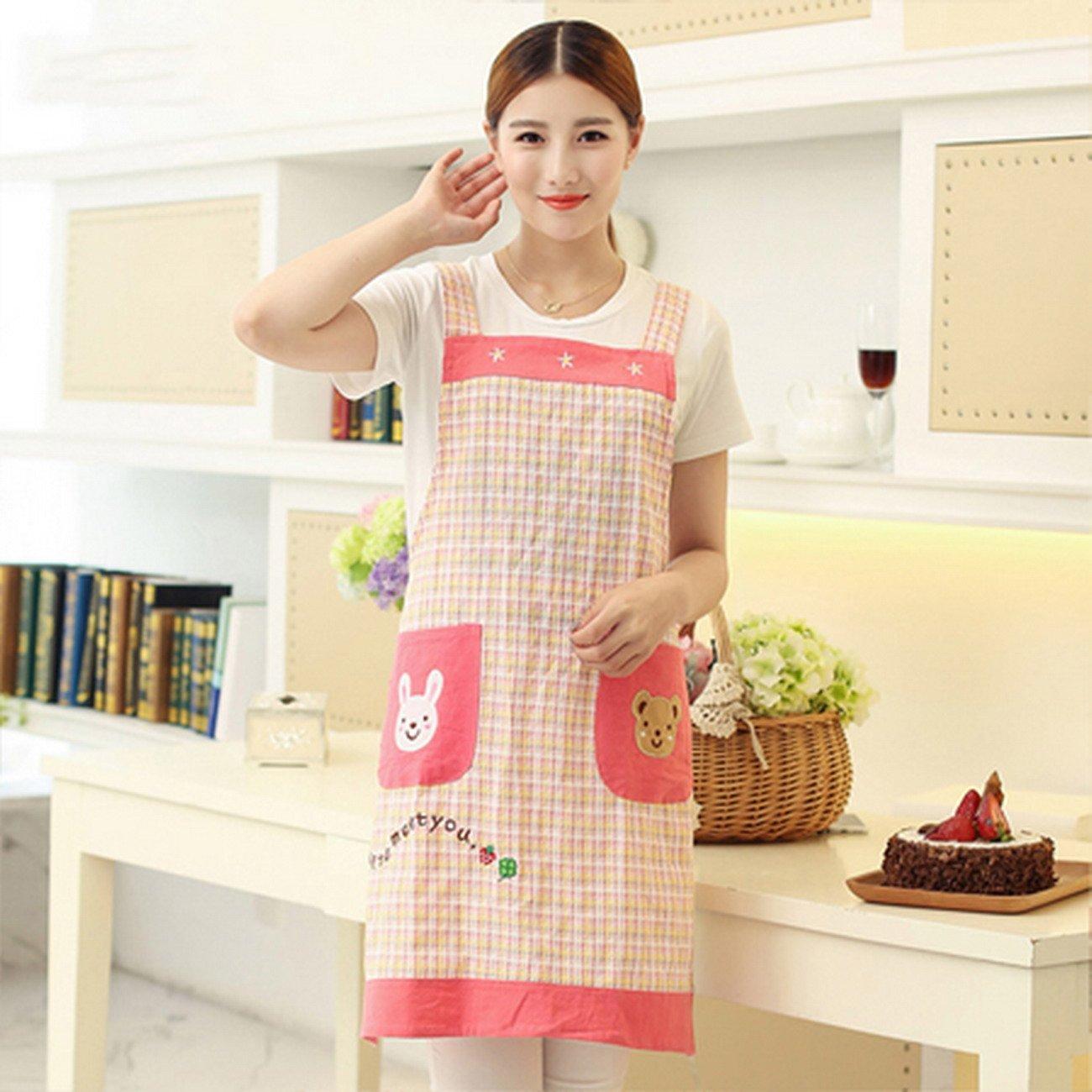 Geranjie Home Furnishingエプロンスカーフマニキュア韓国レストランキッチンエプロン幼稚園Overalls for Woman   B078RH3SP3