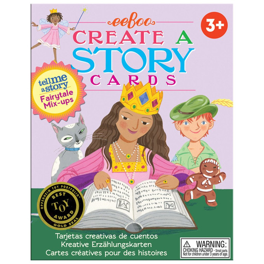 Amazon Com Eeboo Create And Tell Me A Story Cards Fairy Tale Mix