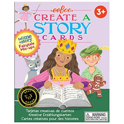 EeBoo Create And Tell Me A Story Cards Fairy Tale Mix Up