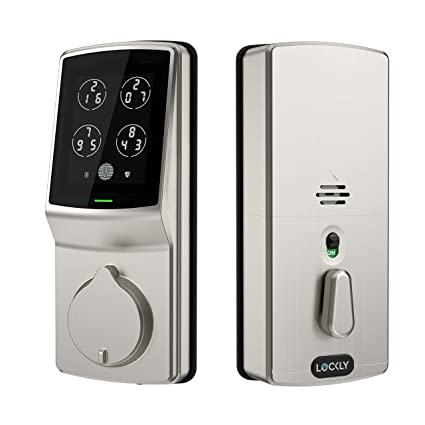 Lockly Keyless Entry Smart Lock, PIN Genie Door Lock (PGD 728) with  Discreet Peek-Proof Touchscreen Keypad, Bluetooth Enabled, Auto Lock,  Battery