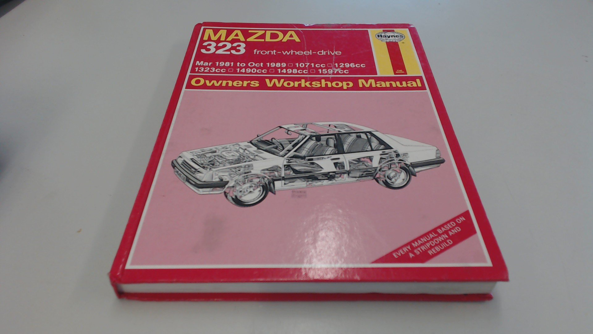 Mazda 323 Fwd (Mar '81 to Oct '89) (Service and Repair Manuals) (Service & Repair  Manuals): Mark Coombs: 9781850106081: Amazon.com: Books