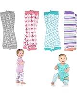 Newborn Organic Baby Leg Warmers (Newborn- 15 pounds)