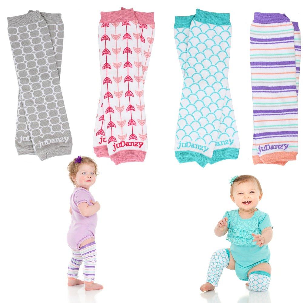 Newborn Organic Baby Leg Warmers (Newborn- 15 pounds) juDanzy