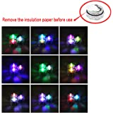 Xcellent Global 12pcs Submersible Waterproof Underwater Tea Lights Colour Changing Flameless Safety LED Candles for Decoration LD040