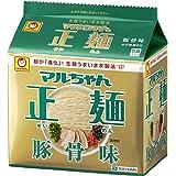 マルちゃん正麺 豚骨味 5食×6個