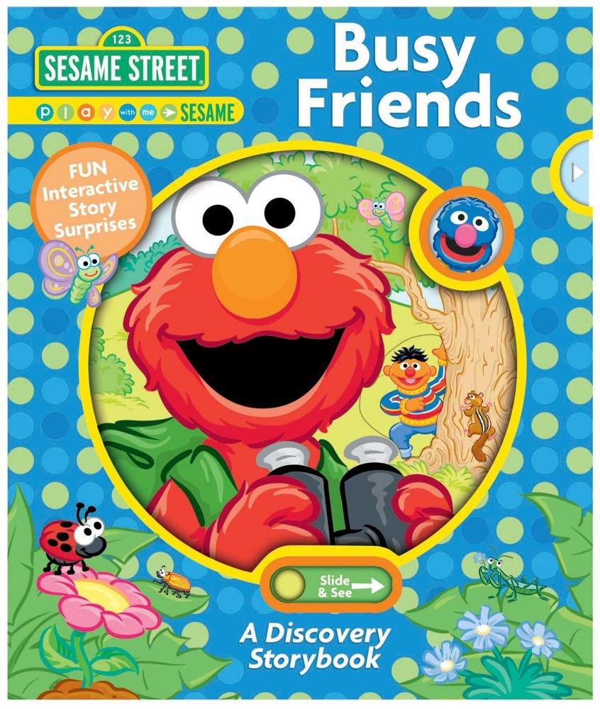Download Sesame Street Busy Friends: A Discovery Storybook (Sesame Street Discovery) ebook