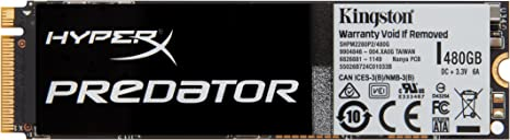 HyperX Predator - Disco Duro sólido Interno de 480 GB (SSD PCIe ...