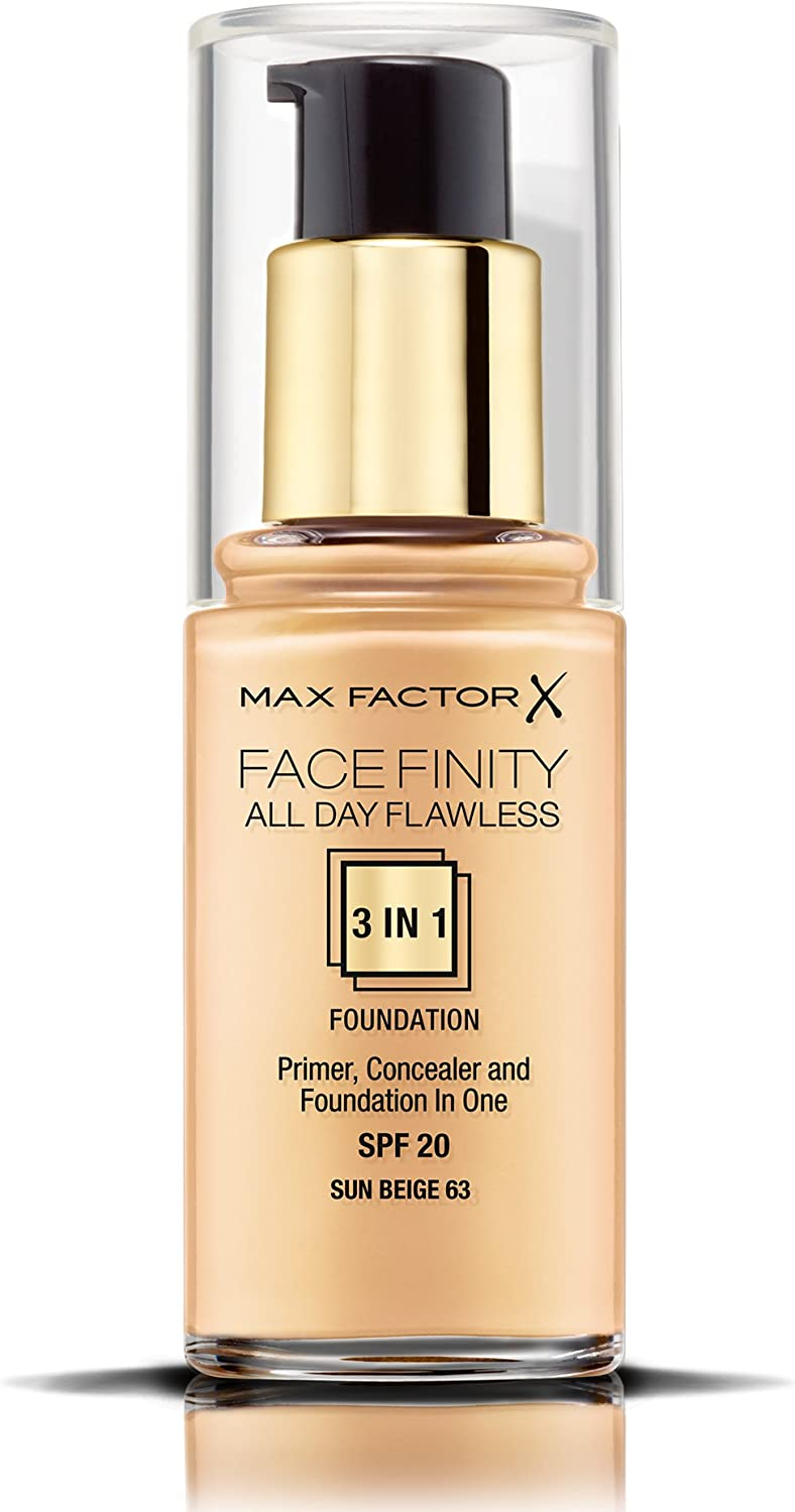 Max Factor Facefinity All Day Flawless 3 In 1 Foundation SPF20, No ...