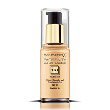 max factor facefinity 3 in 1 all day flawless foundation