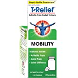 T-Relief Arthritis Tablets for Minor Arthritis Pain and Joint Stiffness - Homeopathic Formula with Arnica - 100 Tablets