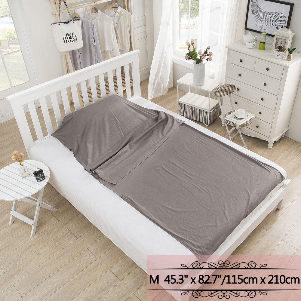 Outry Travel and Camping Sheet Sleeping Bag Liner//Inner Lightweight Summer Sleeping Bag