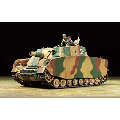 Tamiya America, Inc 1 35 German Assault Tank IV Brummbar Late Prod, TAM35353: Toys & Games