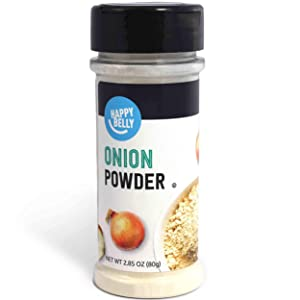 Amazon Brand - Happy Belly Onion Powder, 2.85 Ounces