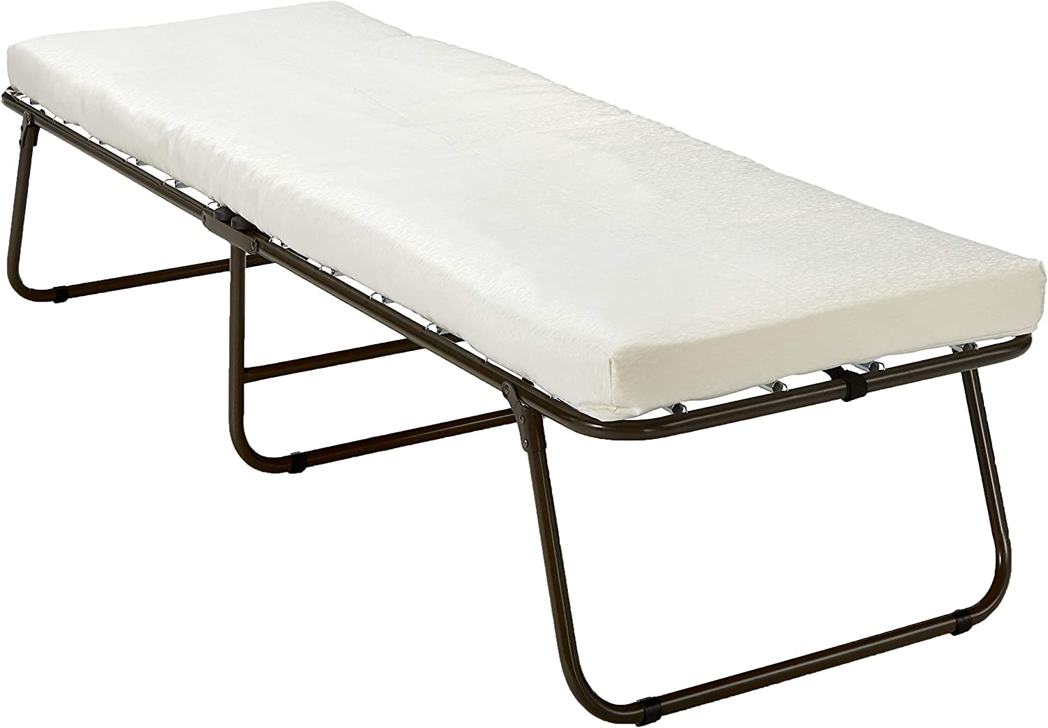 - Amazon.com: Zinus Single Folding Foam Guest Bed With Wheels: Kitchen &  Dining