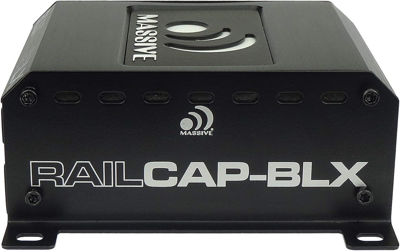 Massive Audio RCLX RAILCAP BLX 4 Farad Capacitor For Nano Blue Marine Amplifiers