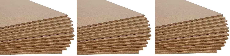 Jack Richeson Medium Density Untempered Hardboard(12 pack) ,  8x10
