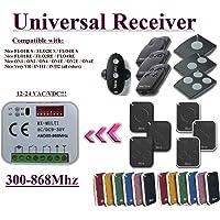 Universal compatible con receptor Nice 433,92Mhz FLOR-S, madera