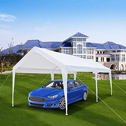 HomVent Car Canopy Tent 10x20 ft Pop up Canopy Tent Carport Heavy Duty Waterproof Outdoor & Amazon.com : HomVent Car Canopy Tent 10x20 ft Pop up Canopy Tent ...