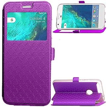 Google Pixel Protector Case, G-Hawk® Plaid Cuero PU + TPU ...