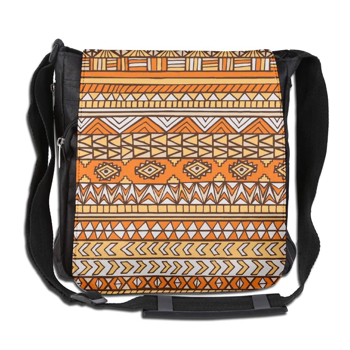 Aztec Maya Ethnic Men Women Casual Satchel Messenger Bags Crossbody Sling Working Bag Travel Shoulder Bags Office//School