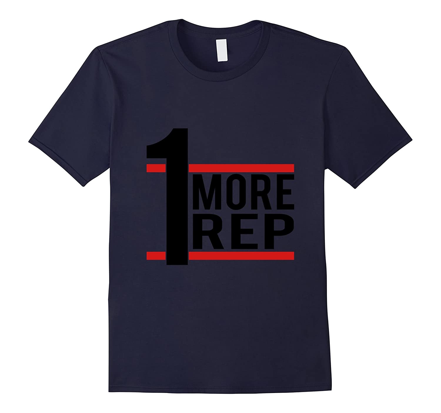 1 More Rep - Bodybuilder T-shirt-TD