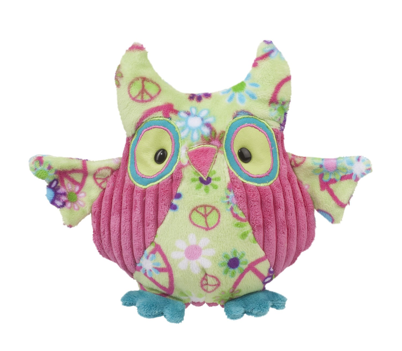 Douglas Cuddle Toys Logan Green Peace Owl 4235