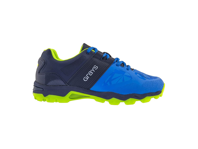 Greys Senior Traction Chaussures de Hockey–Bleu électrique