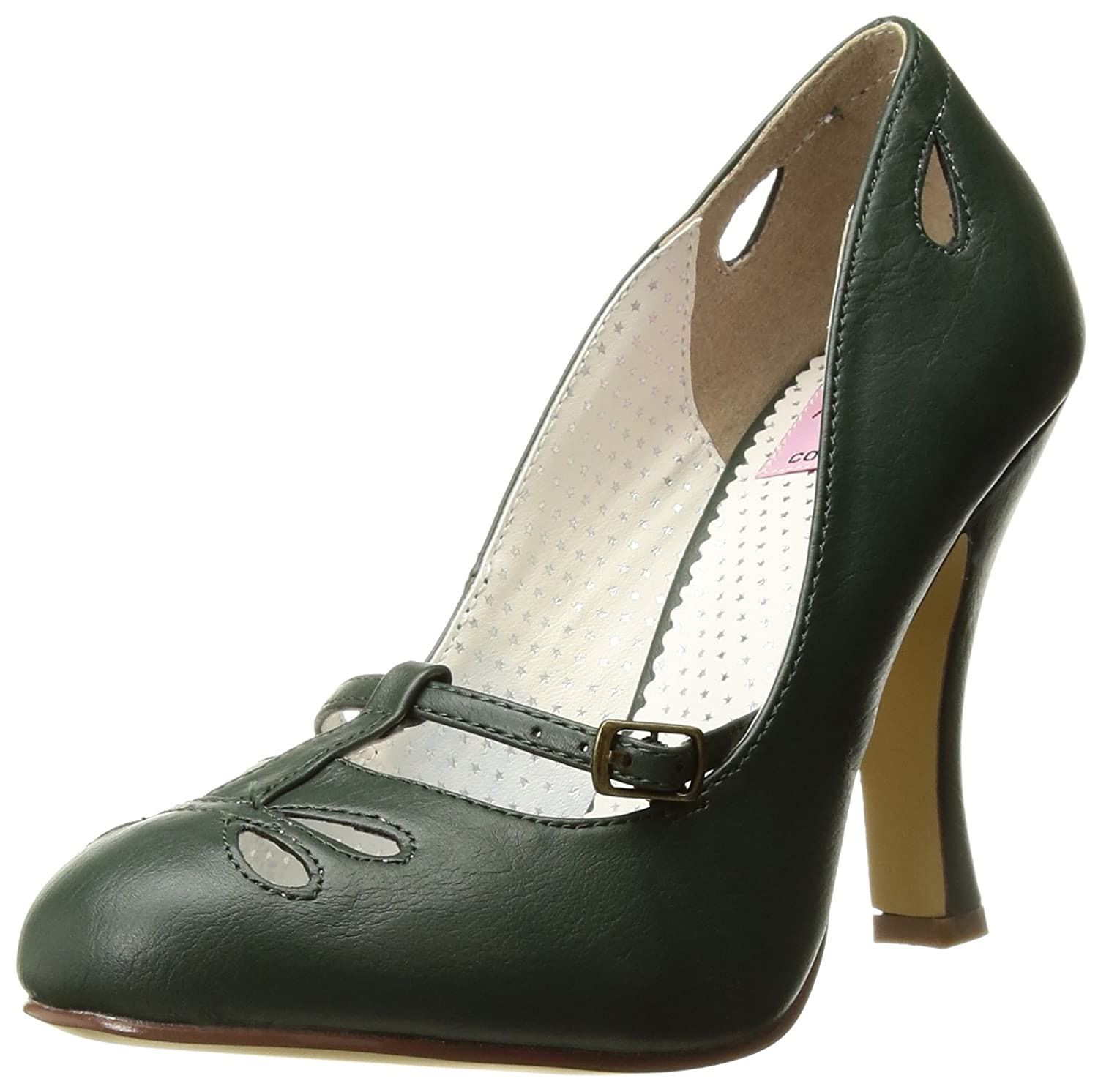 Pinup Couture Womens Smitten-20 Pumps