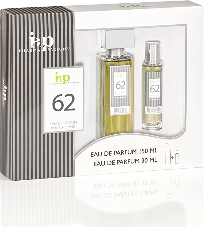 Pack de perfume 150 ml + 30 ml iap perfume nº 62 eau de parfum ...