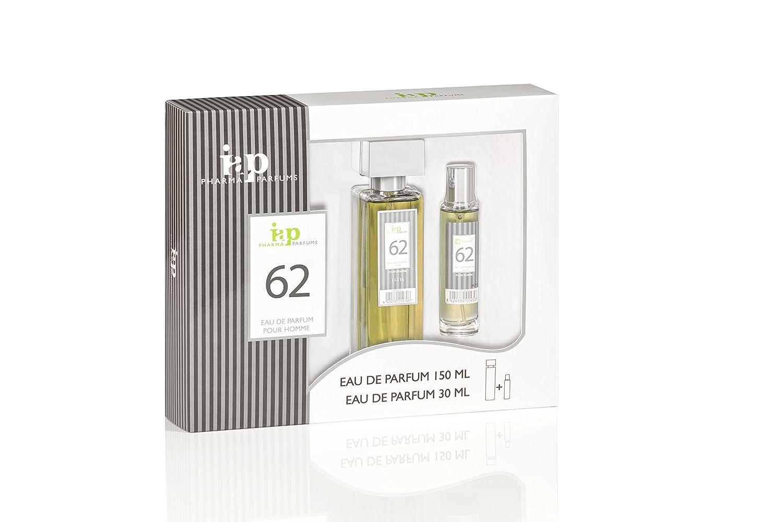 Pack de perfume 150 ml + 30 ml iap perfume nº 62 eau de parfum hombre estuche regalo lo mejor para el