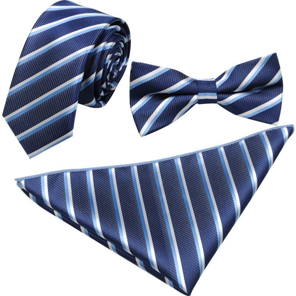 BTTNW AC Pajarita Set Corbata de moño Corbata Pañuelo Conjunto ...
