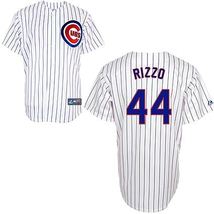 01cecedbf Amazon.com   MLB Chicago Cubs Anthony Rizzo 44 Replica Jersey