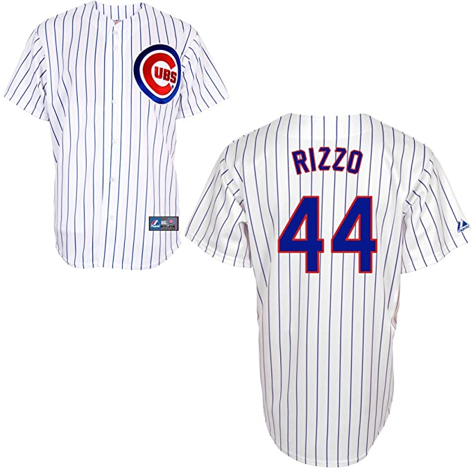 new style 495d7 9ce73 Amazon.com : MLB Chicago Cubs Anthony Rizzo 44 Replica ...