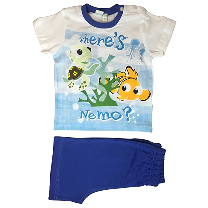 Disney - Pijama Entero - para bebé niño Azul Turquesa