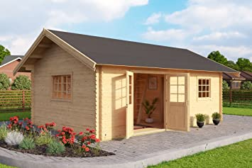 Gartenhaus Mit Fußboden Und Dach ~ Gartenhaus g235 mit schlafboden inkl. fußboden 40 mm