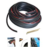 KING FENDER FLARES Edge Trim Rubber Gasket WELTING T-Style 30' FEET - with Alignment Tool for CAR and Truck Wheel Wells - Dou