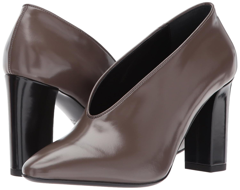 Via Spiga Women's Baran Block Heel Pump B06XH52LSQ 6.5 B(M) US|Bark Leather