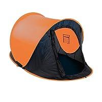 JEMIDI Zelt Pop up Wurfzelt 2 Personen Festival Zelte Trekkingzelt Campingzelt Automatik Sekundenzelt Strand Strandzelt 220cm x 120cm x 95cm 2 Mann Popup Wurfzelte