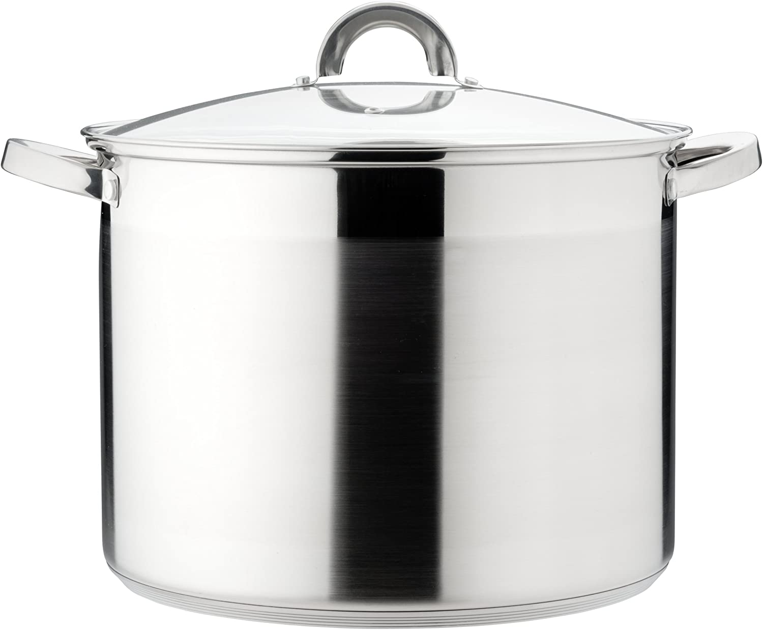 26 x 19 cm KOPF Gigantos Large Cooking Pot with Lid Stainless Steel 9.5 Litter